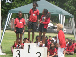 Athletics Podium