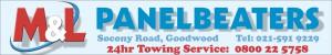 M&L Panelbeaters Tel: (021)591 9229