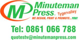 Tel: 0861 066 788 quotestv@minutemanpress.com